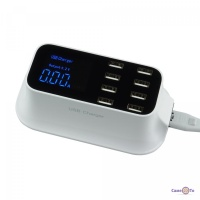USB зарядка на 8 портов - универсальное зарядное устройство