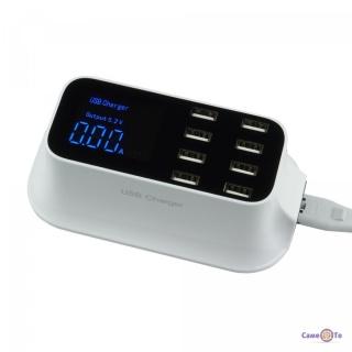 USB зарядка на 8 портів - універсальний зарядний пристрій