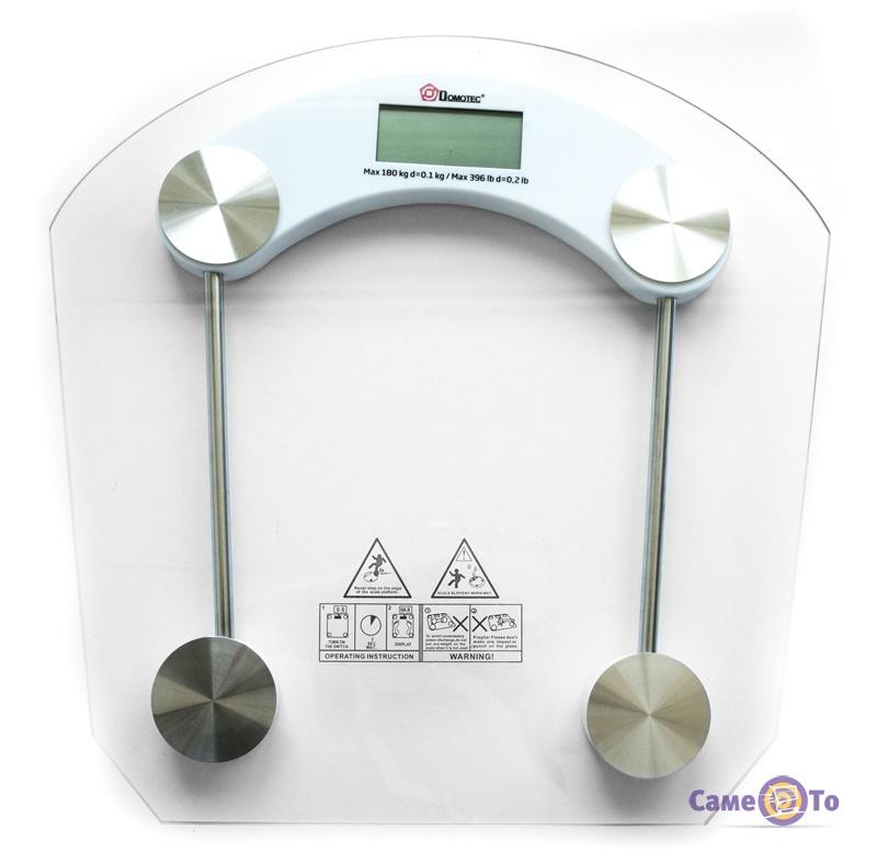 Электронные весы Domotec ACS 2003B - напольные весы, до 150 кг