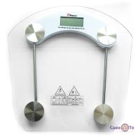 Електронні ваги Domotec MS-2003B - зручні підлогові ваги, до 180 кг