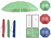 Пляжный зонт от солнца с наклоном без оборки 1.5м