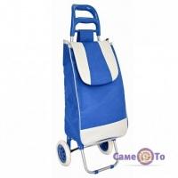 Хозяйственная сумка на колесах - тележка кравчучка для покупок