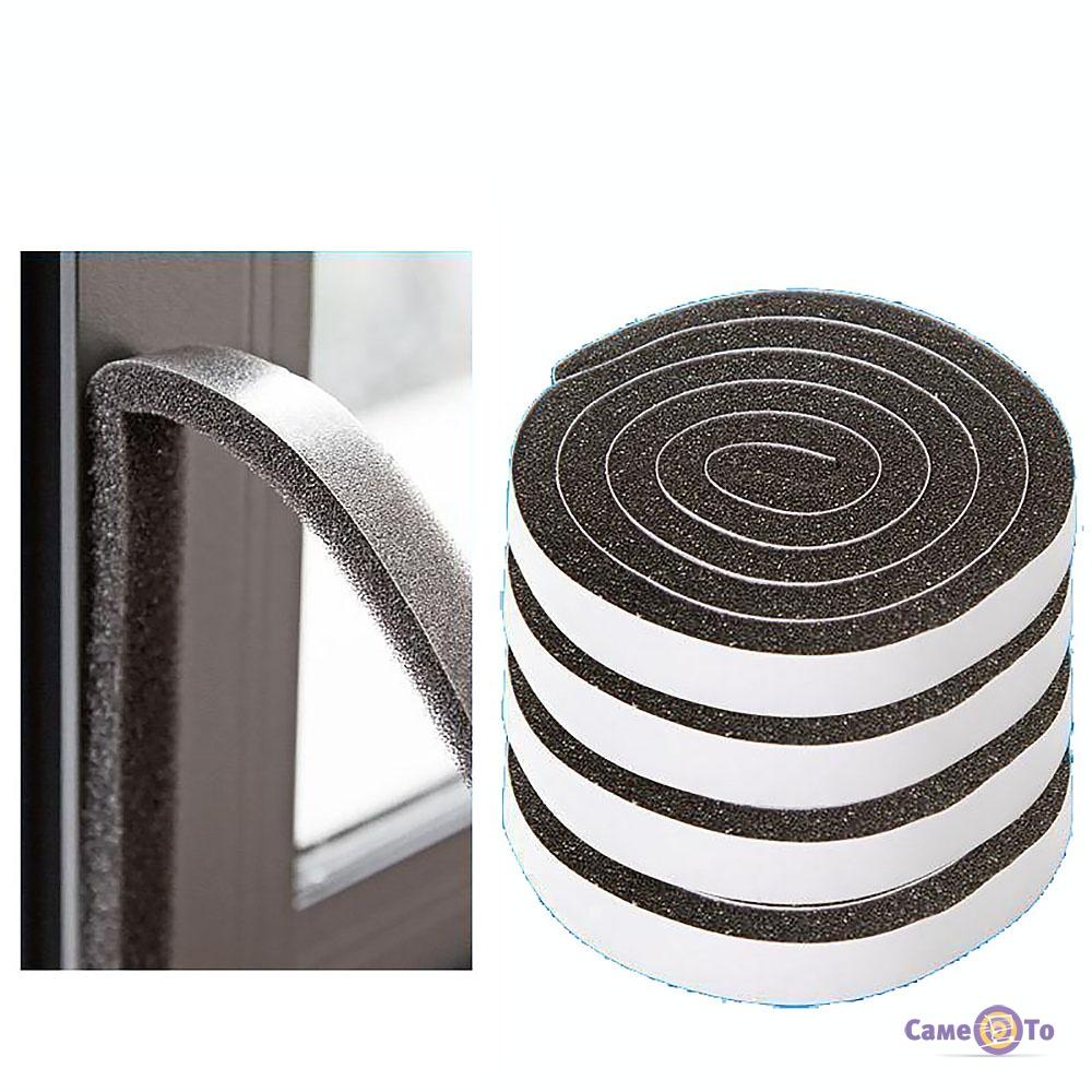 Уплотнитель для металлических дверей - самоклеющиеся уплотнители, набор 4 шт.