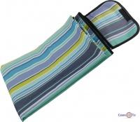 Водонепроникний килимок для пікніка - підстилка для пікніка 145х180 см, в смужку
