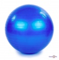 Фітбол - гімнастичний м'яч для фітнесу для дорослих та дітей, 65 см