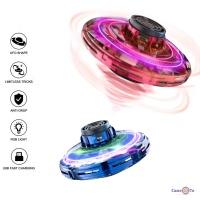 Спінер літаючий FlyNova Fidget Spinner PTW LED фіджет спінер з підсвіткою UFO
