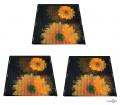 Москітна сітка на магнітах від комарів і мух Insta Screen (Magic Mesh) з соняшниками (3 шт.)