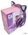 Бездротові навушники з котячими вушками CAT EAR YW-018 безпротова гарнітура з мікрофоном