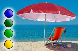Пляжний парасолька від сонця з нахилом с воланами 1.6 м