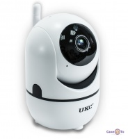 Поворотная беспроводная WiFi IP камера видеонаблюдения для дома UKC CAD Y13G