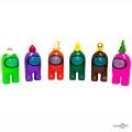 """Іграшки """"Амонг ас"""", фігурки """"Among us"""" великий набір іграшок (6 героїв амонг)"""