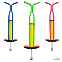 Коник пригалка на пружині - джампер для дітей Pogo Stick (Пого Стік) 100 см