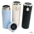 """Термокружка """"Vacuum cup"""" 420 мл, кружка термос з індикатором температури, термочашка для чаю та кави"""
