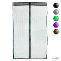 Дверна москітна сітка на магнітах 120х208 - однотонна антимоскітна сітка на двері
