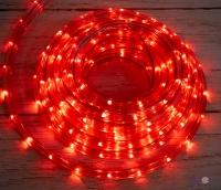 Новорічна гірлянда на вулицю Xmas Rope Light R Червона на 8 метрів