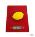 Скляні кухонні ваги до 5 кг Domotec  MS-912 16х23 см