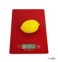 Скляні кухонні ваги до 5 кг CK 1912 16х23 см