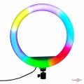 """Світлове cелфі кільце """"RGB LED кільце MJ33"""" світлодіодне, різнобарвна лед лампа для селфі для телефону"""