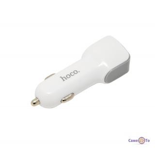 Зарядка для телефону в авто Hoco Z23 2 USB