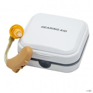 """Завушний слуховий апарат """"Axon V-185"""", аналоговий апарат Аксон для поліпшення слуху"""
