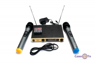 Караоке система UKC KM688 - аппаратура для караоке, + 2 микрофона