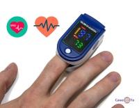 Пульсоксіметр LYG-88 кольоровий - апарат для вимірювання кисню в крові