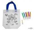 Дитяча сумка розмальовка 24х10х22 см з принтом дерева (Z12)