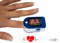 Пульсоксиметр для вимірювання пульсу і сатурації Fingertip pulse AB-88