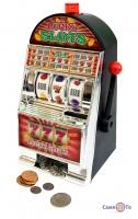 Однорукий бандит 777, Lucky Slots NO.QS888, інтерактивна скарбничка