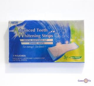 Отбеливающие полоски для зубов Ultra Gel Whitening Strips - упаковка, 7 пар