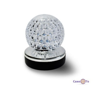 Диско лампа LED Full Color Rotating Lamp - светильник ночник c MP3