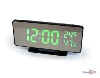 Настільний годинник світлодіодні VST-888Y з барометром і термометром