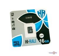 Карта пам'яті для телефону, фотоапарата HI-RALI 16 GB