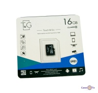 Карта пам'яті TG 16 GB class 10 пам'ять для телефону, фотоапарата