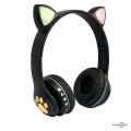 Бездротові навушники з вушками Cat ear headphones VZV-23M, блютуз навушники накладні