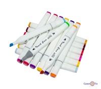Набір маркерів для скетчінга Touch Coco (48 шт./Уп. Білий корпус)