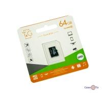 Карта пам'яті для телефону micro sd TG 64 GB class 10