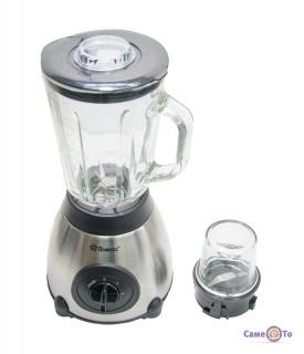 Стационарный блендер с кофемолкой 2в1 для смузи и коктейлей Domotec MS-6609