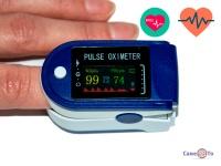 Прилад для вимірювання кисню в крові пульсоксіметр - LK88