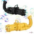 """Іграшка кулемет для мильних бульбашок """"Bubble gun"""" 20х10 см, машина для мильних бульбашок"""