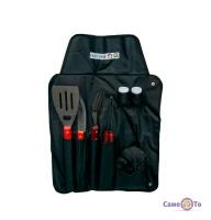 Фартух - набір для барбекю, гриля 4 інструменти, 60х41 см