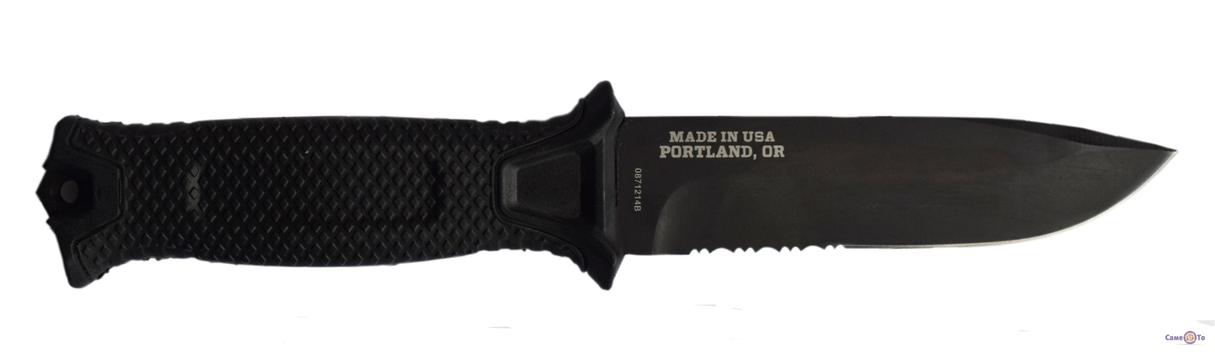 Нож туристический Gerber - нож для выживания, с чехлом