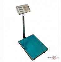 Весы торговые Domotec - электронные весы, до 350 кг (платформа из нержавеющей стали)