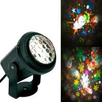 Новорічний LED проектор для квартири Projection lamp SE328-01, лампа-проектор світлодіодний домашній