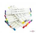 Фломастери для малювання Touch Cool 48 шт./Уп. білий корпус