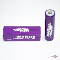 Литий ионный аккумулятор 18650 для вейпа и фонарика Efest 2500 mAh