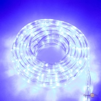 Светодиодная гирлянда Дюралайт 10 метров (белая, синяя, мульти)