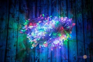 Світлодіодна гірлянда 400 multi LED 15 метрів
