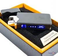 Подарункова електрозапальничка дугова на акумуляторі ZGP 23