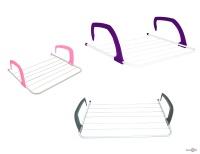Сушарка для одягу на балкон Fold Clothes Shelf TL00143-XXL 68х40